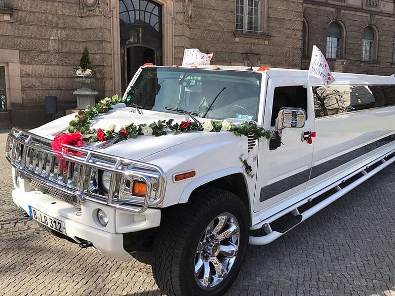 Hummer mieten Hochzeit Berlin
