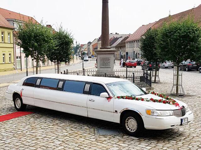 Hochzeit - Lincoln Stretchlimousine mieten Berlin
